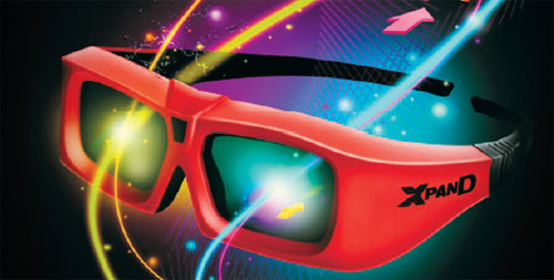 XpanD X103 3D Active-Shutter Glasses