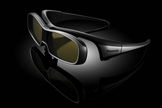 panasonic active shutter 3d glasses