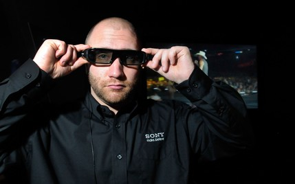 sony active shutter 3d glasses