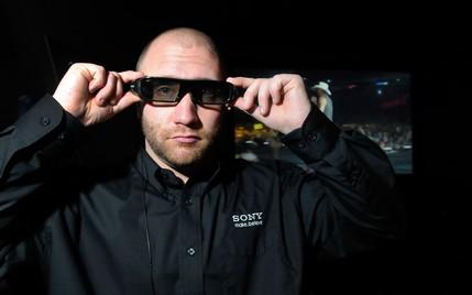 sony active shutter 3d glasses